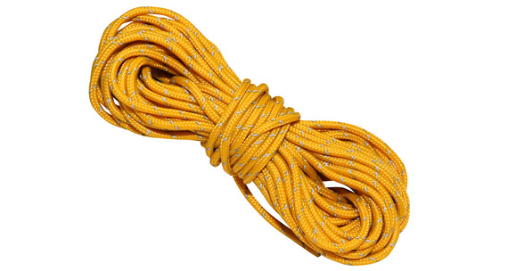 Nordisk Guy Rope Accessori tenda Dyneema, 2,0 mm, 15 m giallo
